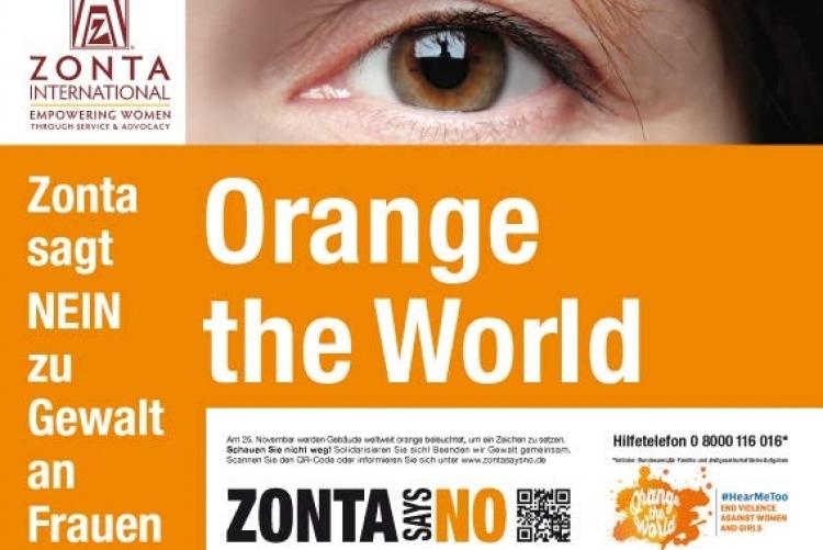 Zonta   Orange The World